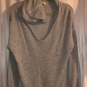 Gap grey hooded sweater, size Large